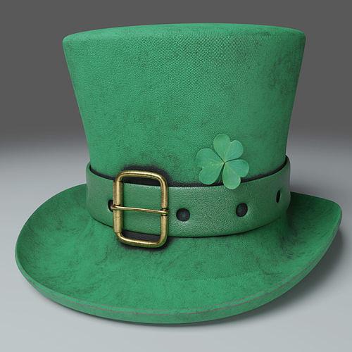 St Patricks Hat Photorealistic PBR - 3D Model