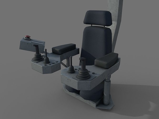 Control panel with joysticks - crane or gantry