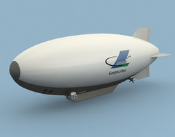 3D model CargoLifter Airship
