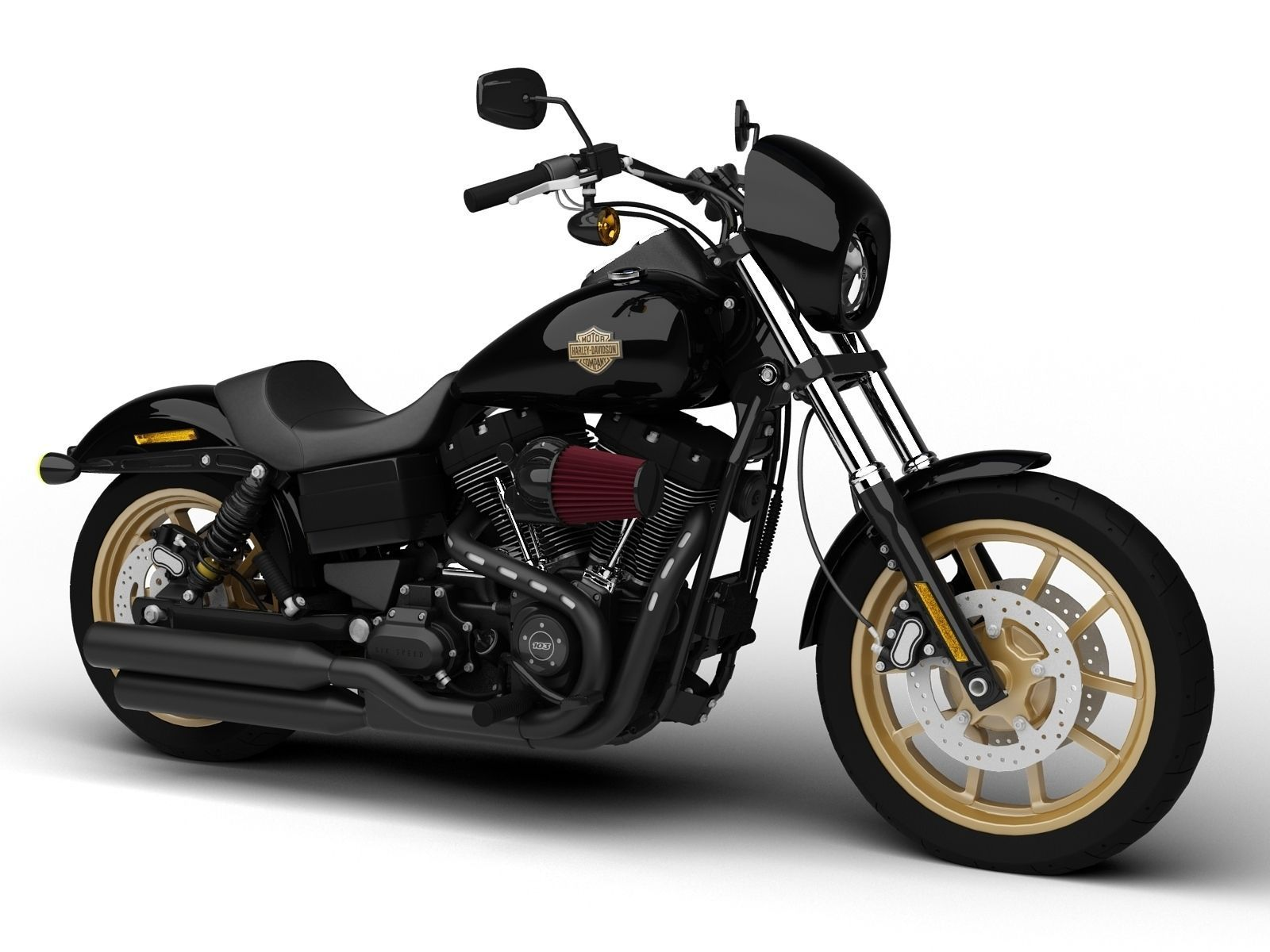 Harley Davidson Fxdl Dyna Low Rider S 2016 Model