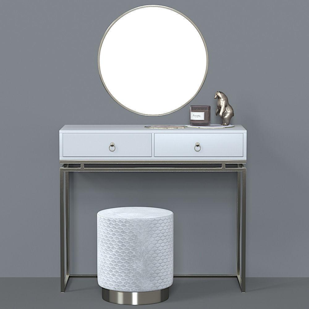 3d model of dressing table