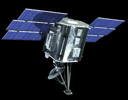Quik SCAT Satellite 3D model