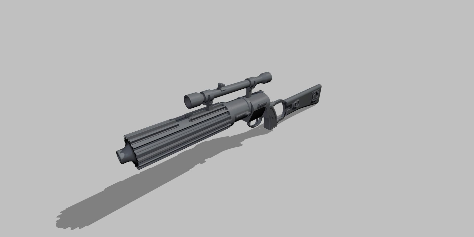 Star Wars Boba Fett Blaster Carabine EE-3