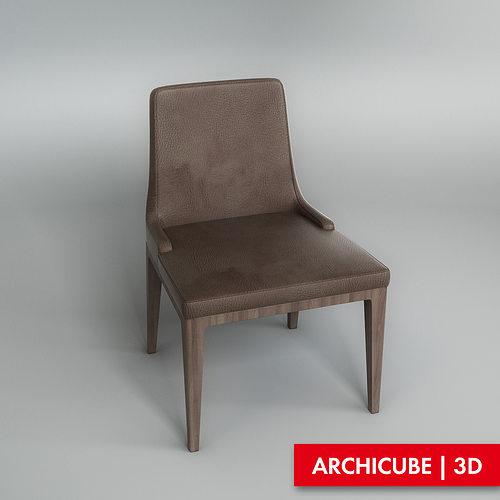 chair 3d model max obj mtl fbx 1