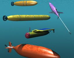 3D Robot Submarines