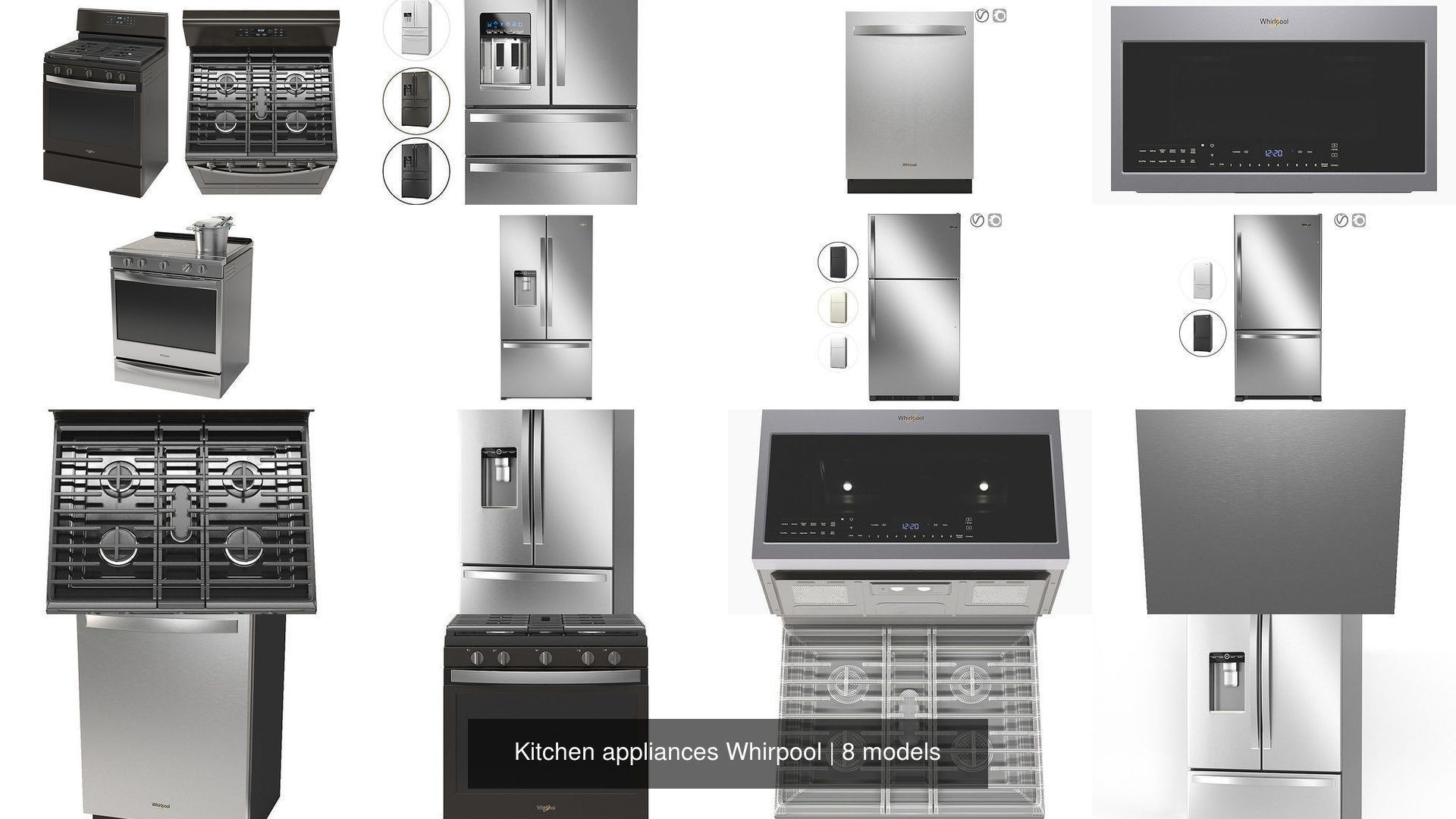 Kitchen appliances Whirpool
