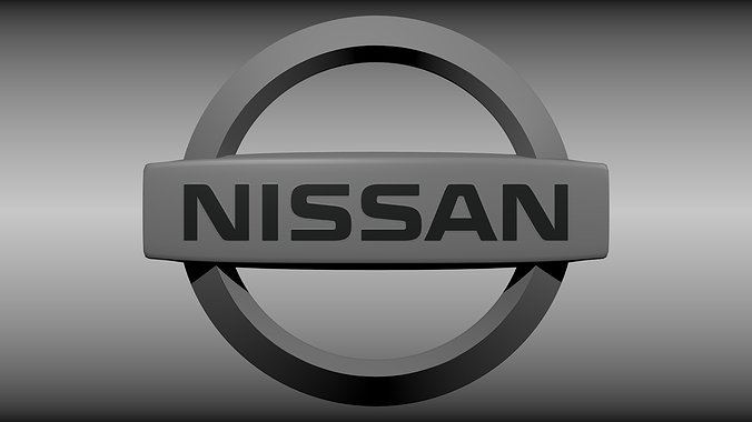Nissan Sports Car >> Nissan logo 3D model | CGTrader