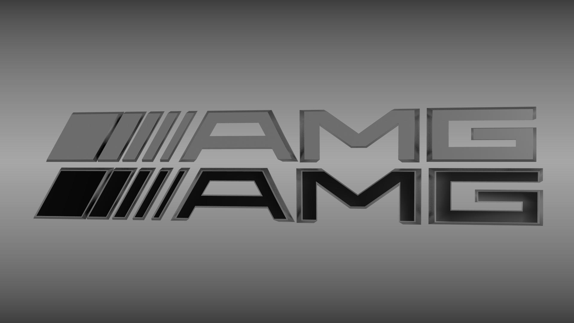 AMG logo set