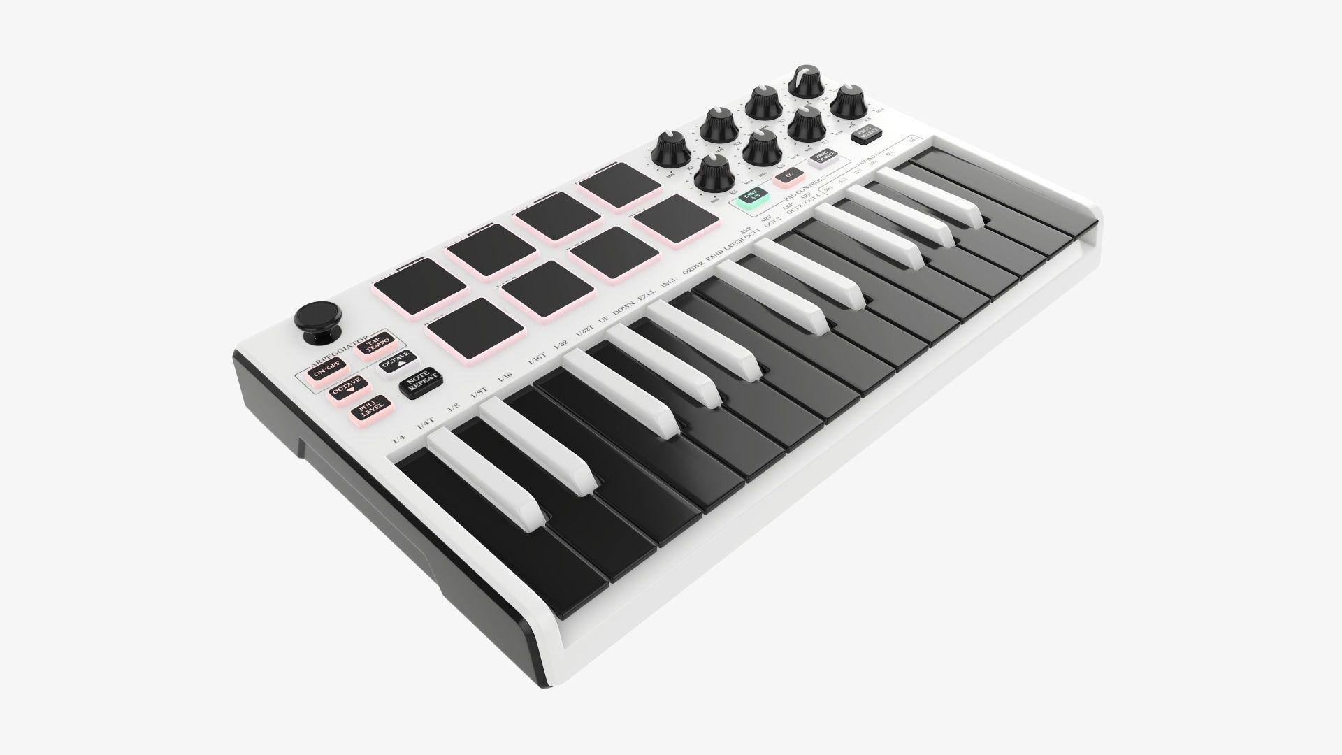 Mini keyboard 25 key controller