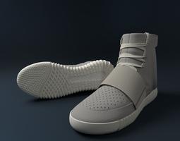 3D model yeezy 750