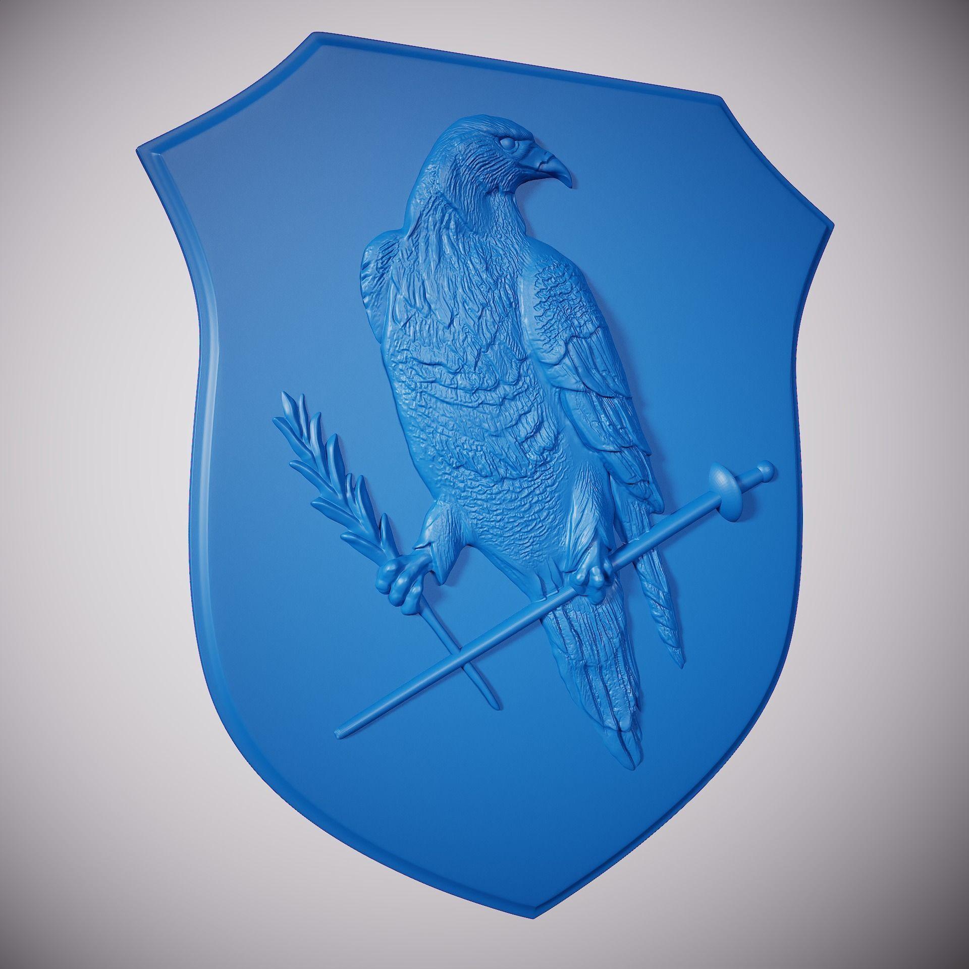 Eagle on the shield