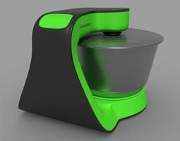 3d kitchen blender mixer