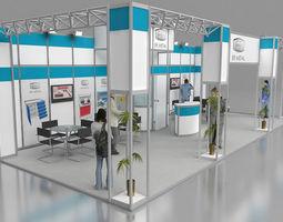 3d er metal exhibition stand design