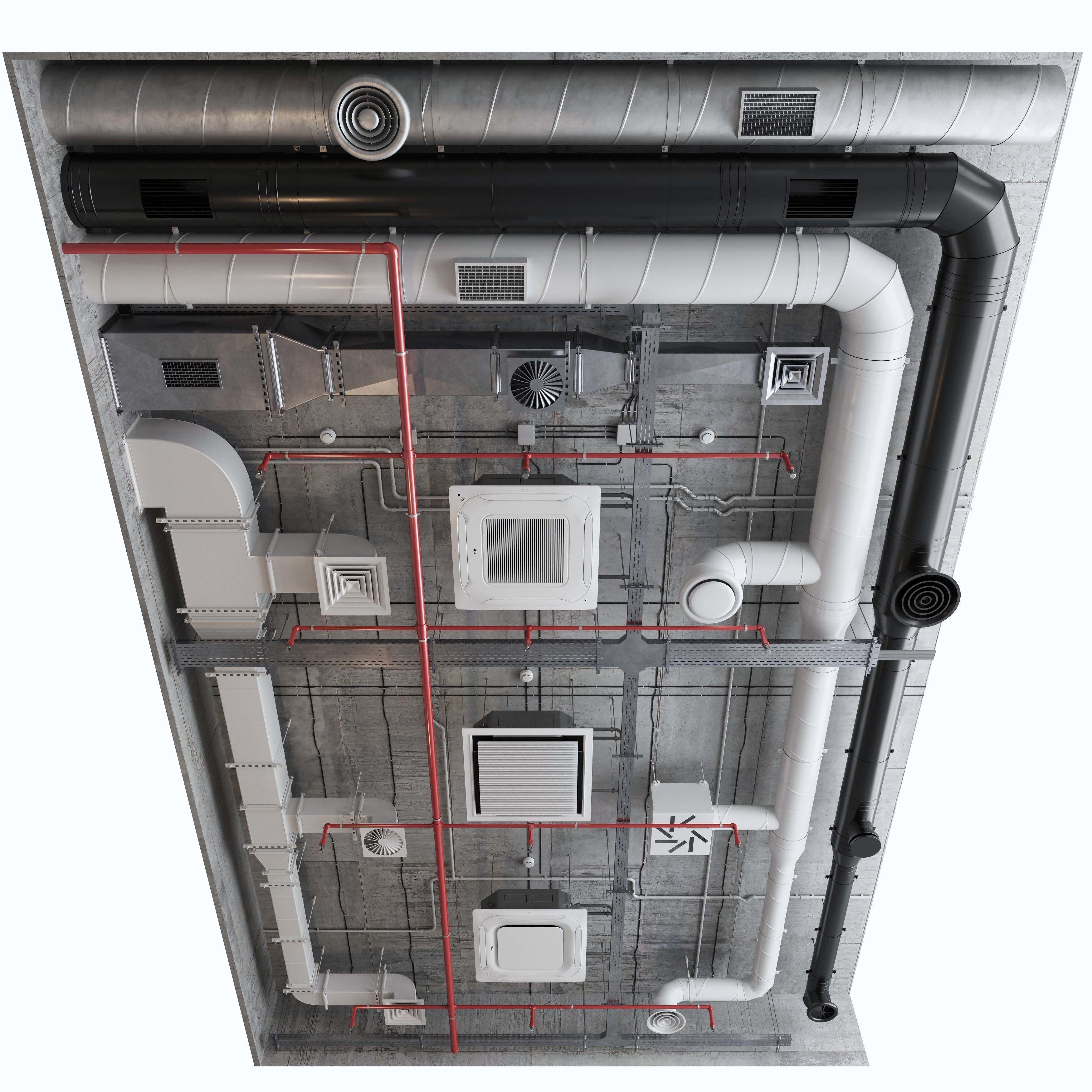 Ventilation system set 01
