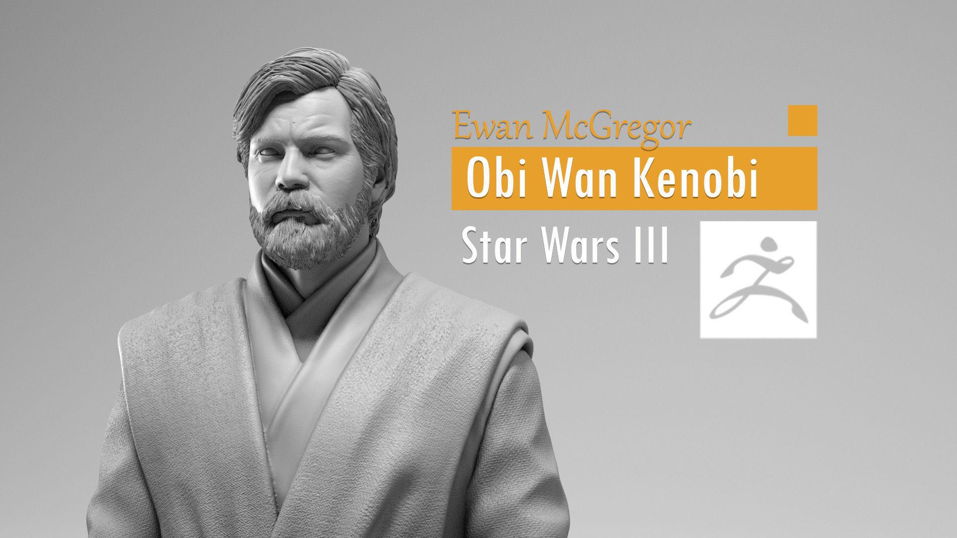 Ewan McGregor - Obi Wan Kenobi - Star Wars Revenge of the Sith