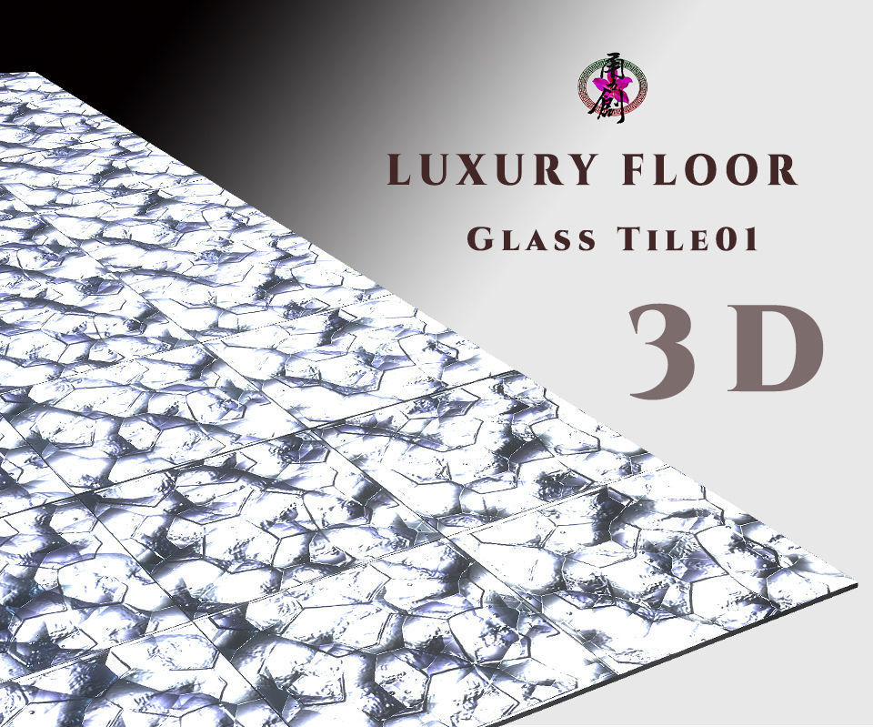 Luxury Floor - Glass Tile 01