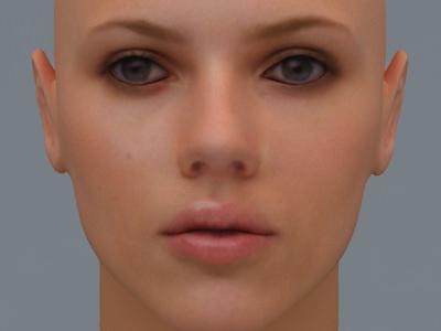 Scarlett Johansson 3d Model Cgtrader