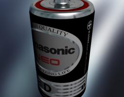 3d battery size-d