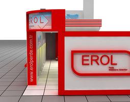 erol exhibition stand design 3d