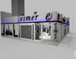 3D model Esmer Exhibition Design