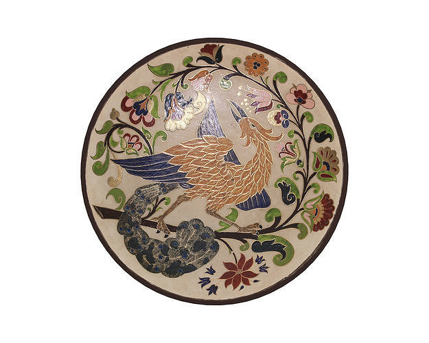 Traditional Plate -Bird