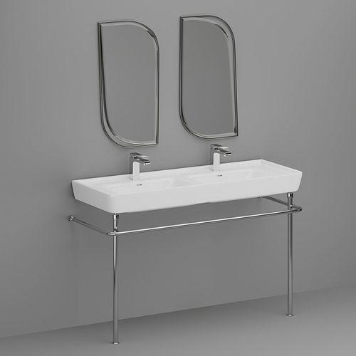 LAUFEN PRO S and mirror Isandro
