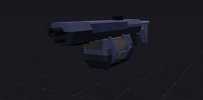 Easy shotgun model