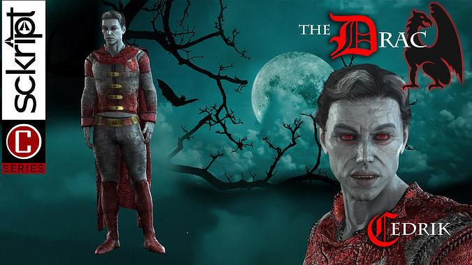 Vampire Cedrik Drac