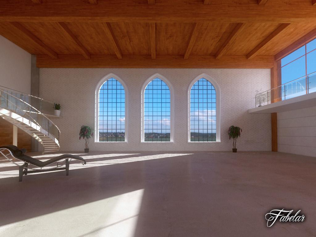 Luxury Garage 3d Model Max Obj 3ds