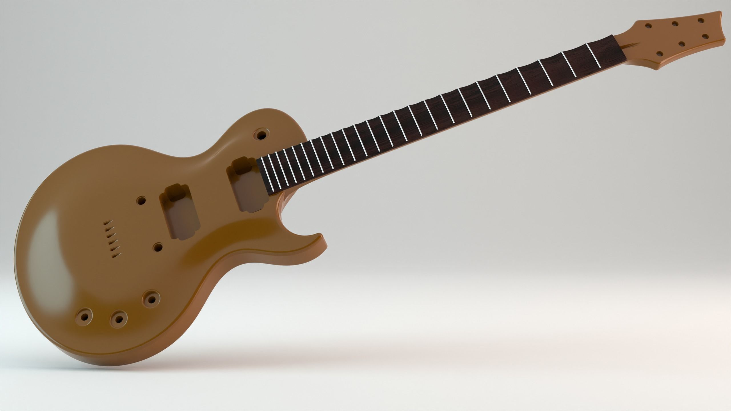 CNC Ready Les Paul Style Guitar Single Cut