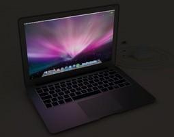 Macbook Air 2010 3D model