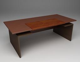 Contemporary Desk 3D model