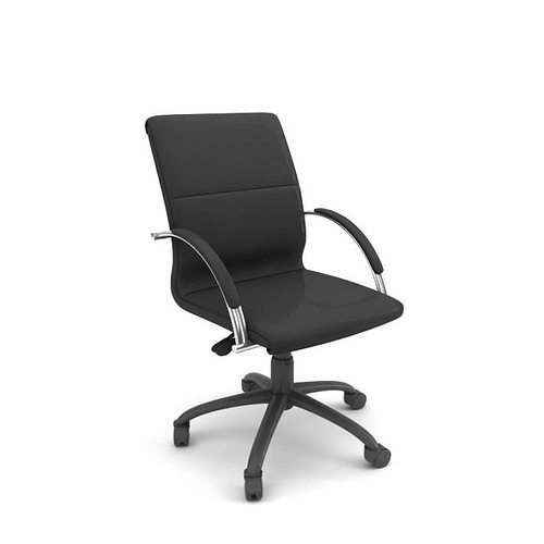 Superieur Wheeled Office Chair. Wheeled Professional Rolling Office Chair 3D Model  Inside Wheeled