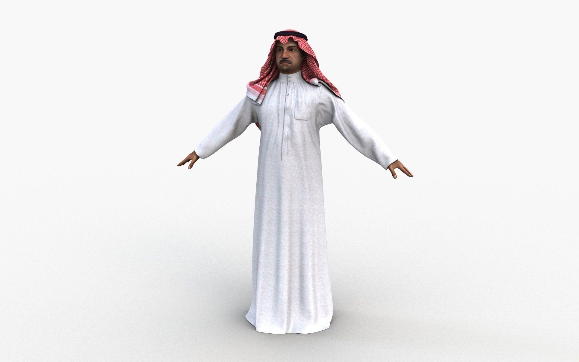 Arabic Man 01
