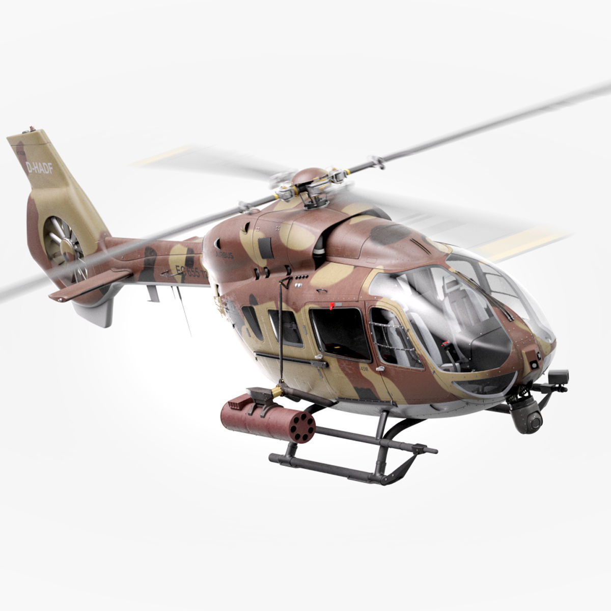 Military Attack Defense Modern Helicopter  Airbus H145M