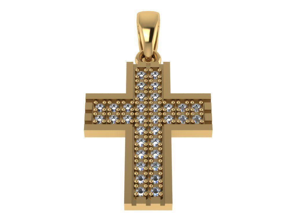 Cross Pendant 13 stl