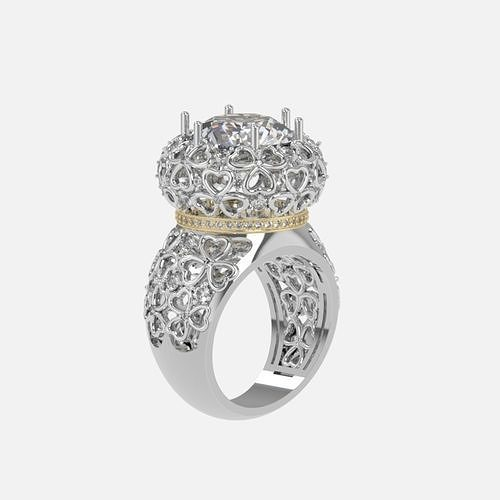 ring with patterns