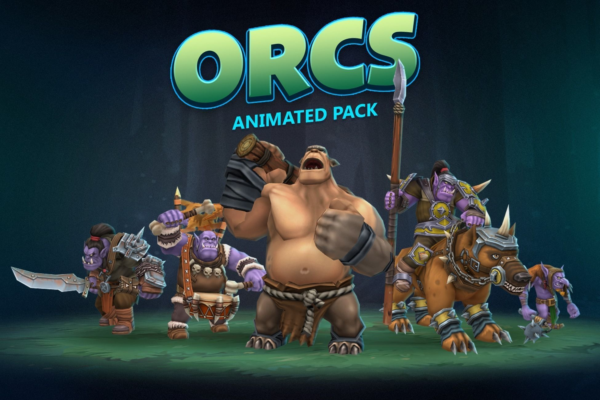 Orcs animated pack