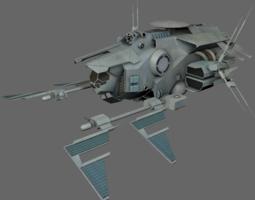 Command Ship MS 3D Model