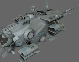 3D model VR / AR ready Interceptor MS