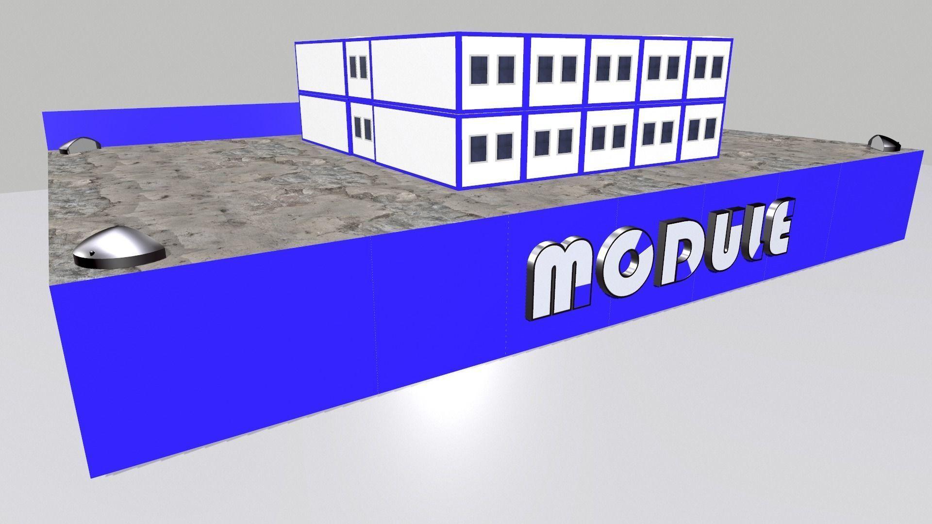 Presentation stand Modular building