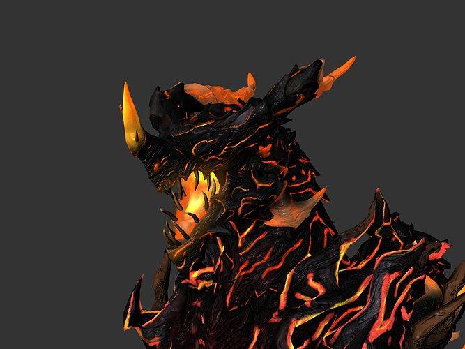 dragon 3d model ma mb 1