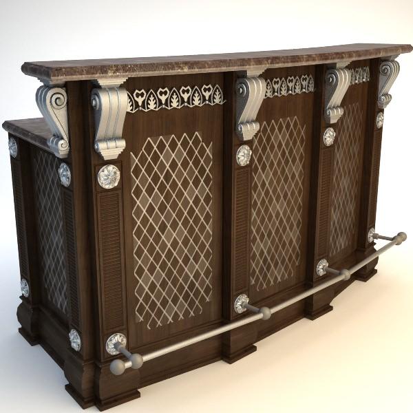 Kitchen Island Cabinet Model Max Fbx