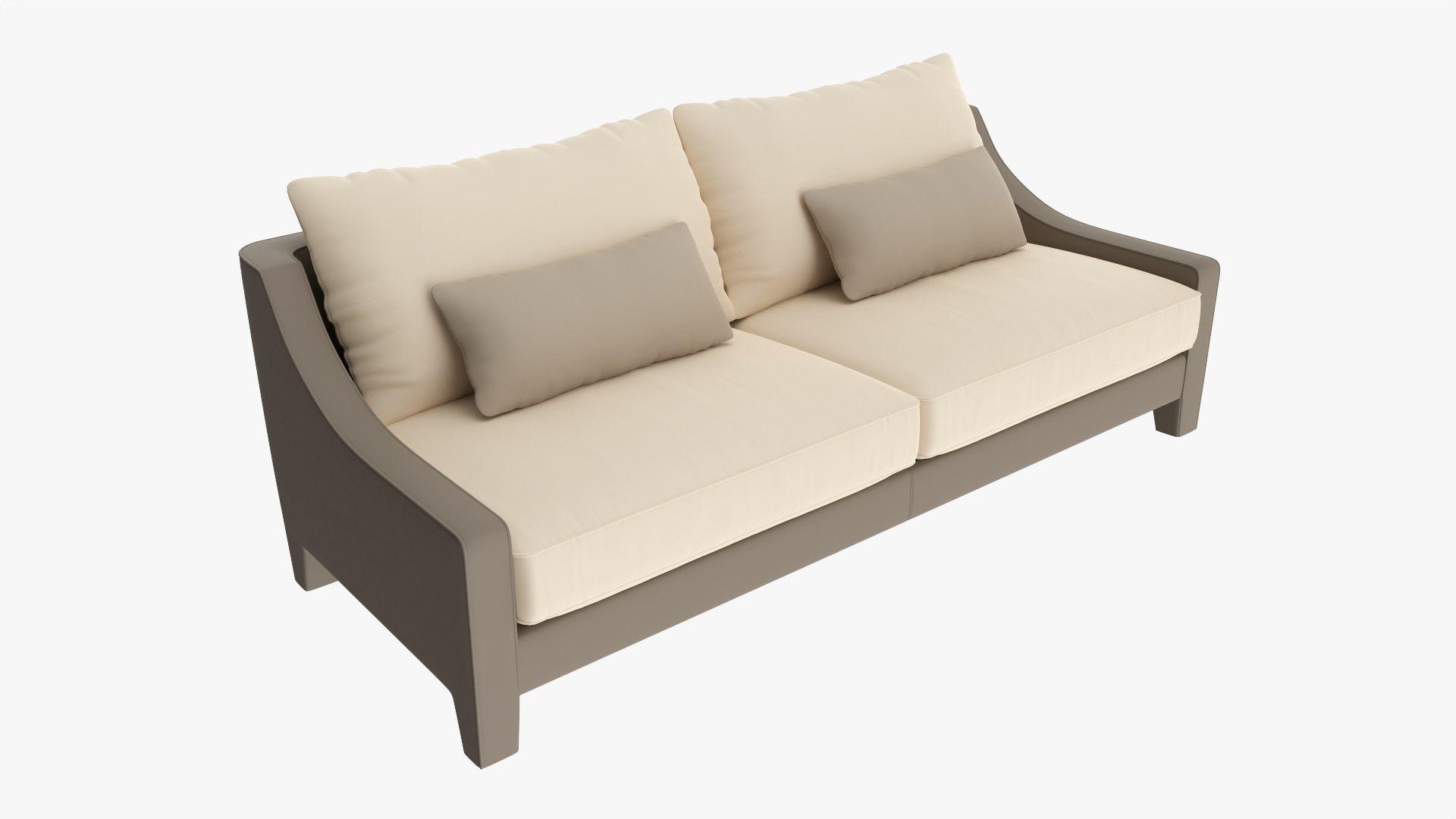 Loveseat sofa 03