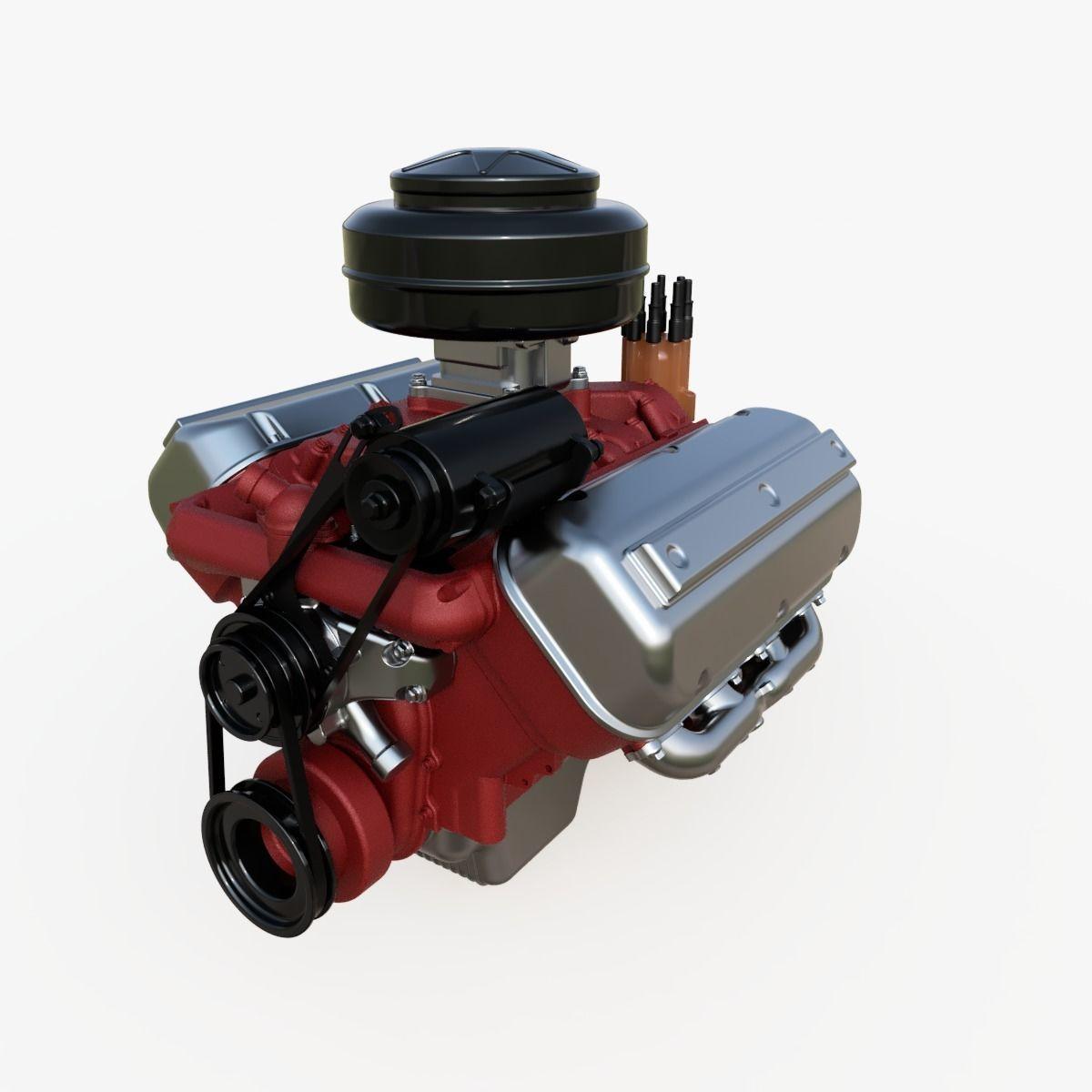 Vintage HEMI engine