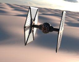 new order tie fighter 3d