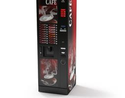 3D model Cafe Coffee Vending Machine