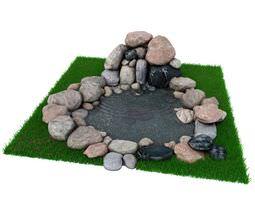 3D Tranquil Pond