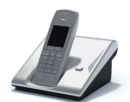 Silver Home Phone 3D model