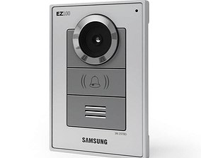3D model Silver Home Intercom System